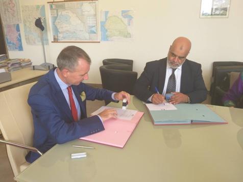 Facilitation pour prise de rendez-vous et traitement des demandes de visas : Le Consulat général de France signe un partenariat avec SANOFI