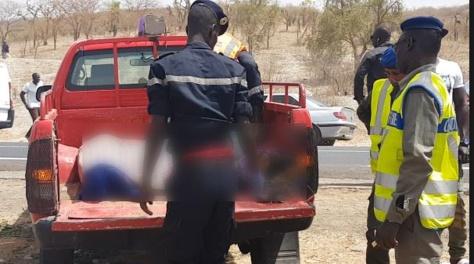 Grave accident à Bambey: Un véhicule revenant du Magal de Touba fait 3 morts