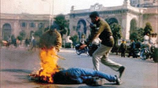 PARIS : Un homme s'immole par le feu devant le Palais de Justice
