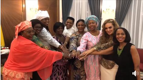Découvrez ce que font Marième Faye SALL et dix autres Premières dames africaines au Palais