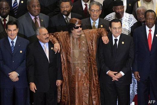 Contribution : Kadhafi ou l'agonie d'un Roi.