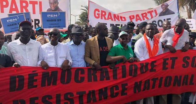Processus électoral : l'opposition annonce une marche