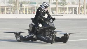 La police de Dubai est désormais équipée de motos volantes
