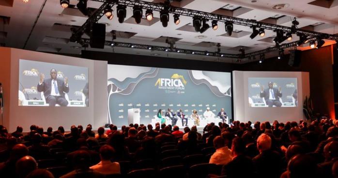 Afrique du Sud: Les belles moissons du Président Macky Sall  à l'Africa Investment Forum de Johannesburg