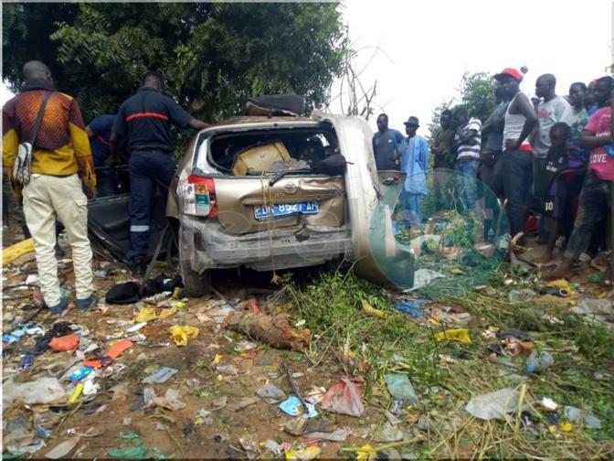 Urgent - Violent accident violent aujourd'hui à Sebikotane (Photos)