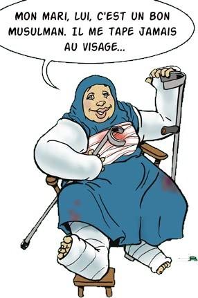Le Coran ordonne-t-il de frapper sa femme?