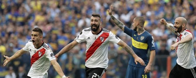 Copa Libertadores : River Plate tient tête à Boca Junior 0 la Bombonera
