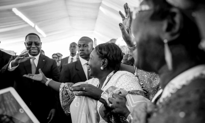 Accueil chaleureux de son excellence Macky SALL par les sénégalais de la France