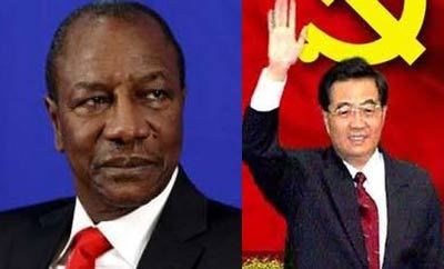 La présence de la chine dans le secteur minier guinéen inquiète: Alpha Condé a-t-il compris ?