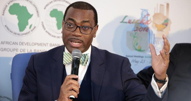 Akimuwi Adesina, président de la BAD: «L'aiguille se déplace et pointe dans la bonne direction, vers l'Afrique »