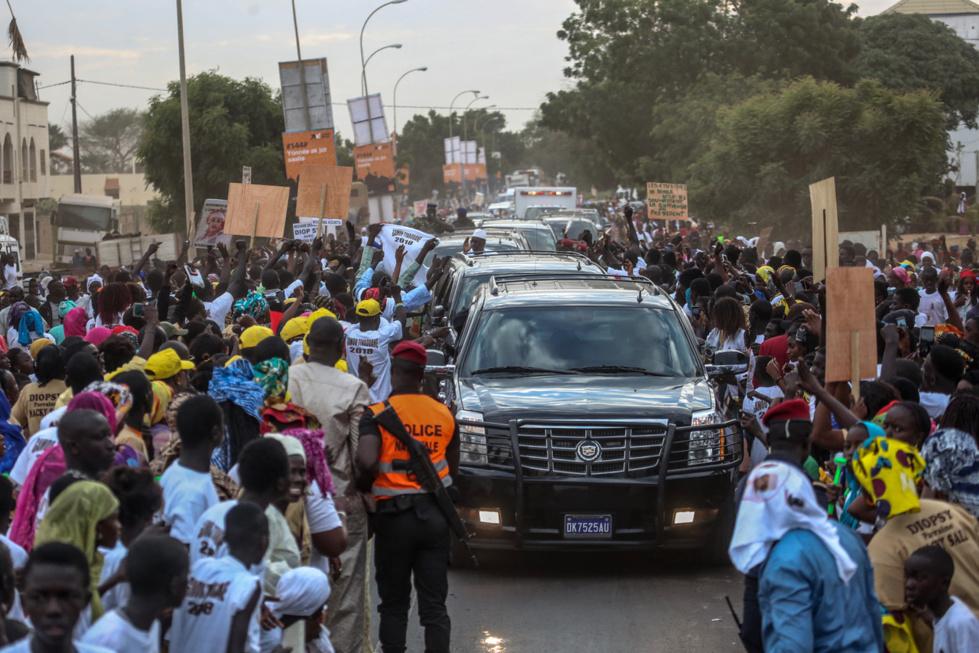 Tivaouane : La visite du président Macky Sall en images
