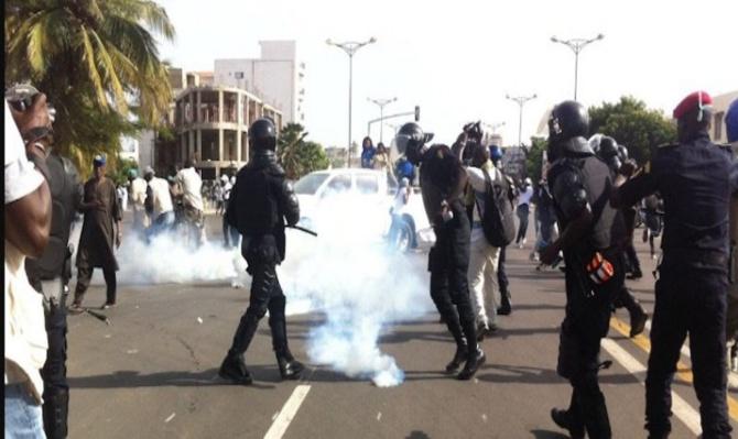 Colobane : Affrontements entre ambulants et forces de l'ordre