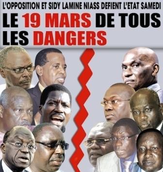 Série de manifestations annoncées le 19 mars 2011 : Wade et son régime vont-ils vaciller ?
