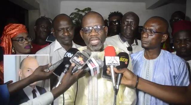 """Mayoro Faye """"dément"""" Ousmane Ngom : """"il ne sera reçu ni par Me Abdoulaye Wade ni par Karim Wade"""""""