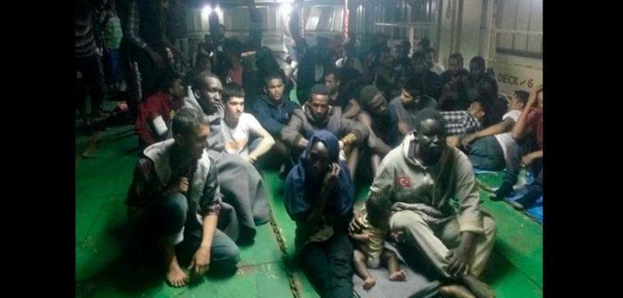 Libye: Des migrants refusent d'être débarqués dans le port de Misrata. La raison !
