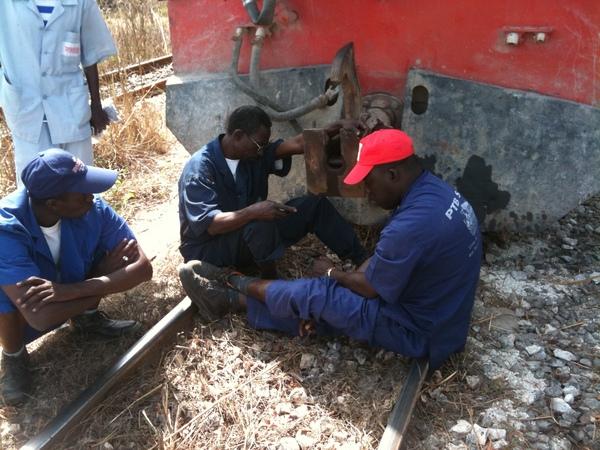 Ginaw Rail : Un homme voulait passer sous les wagons du Petit train bleu