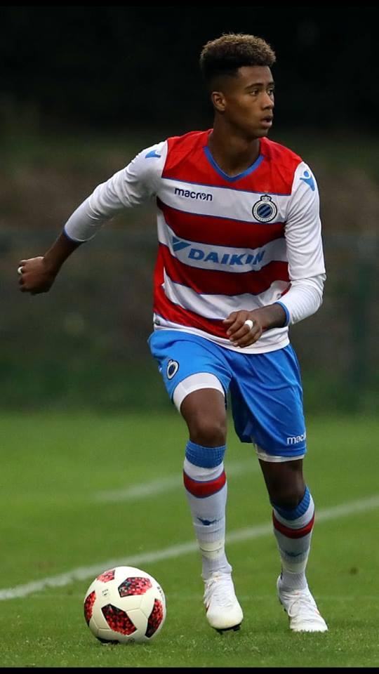 Noah Fadiga, fils de Khalilou, appelé pour la première fois en équipe première à Bruges