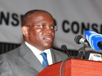 Le ministre des Relations extérieures angolais, George Chicoty. DR