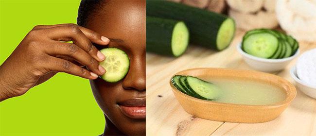 Le concombre pour resserrer les pores, comment ça marche?