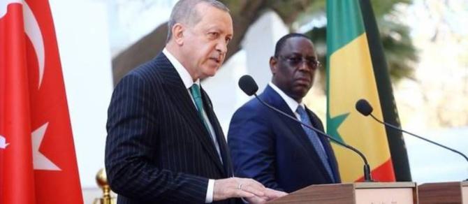 Le président turc Recep Tayyip Erdogan, attendu à Dakar le 4 décembre