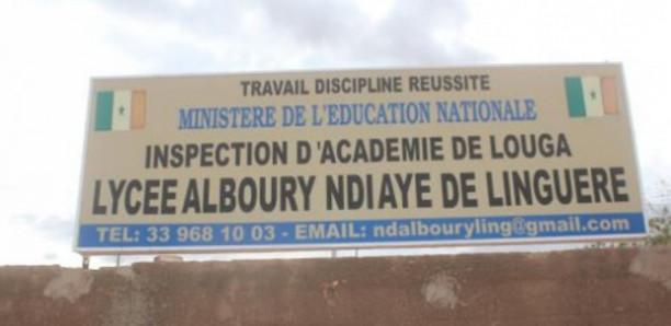 Linguère : Un don de 200 serviettes hygiéniques aux jeunes filles de Lycée Alboury Ndiaye