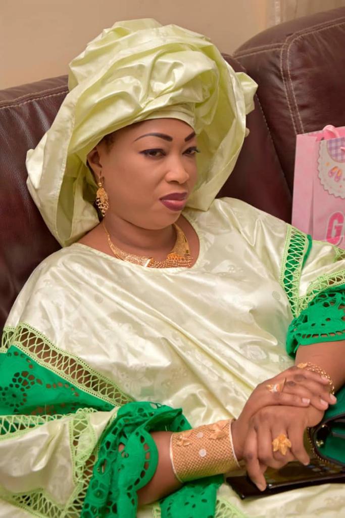 Voici Sokhna Fatou Binetou Mbacké, l'épouse de Serigne Abdou Karim Mbacké