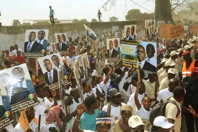 Investiture du candidat de la coalition Bby aujourd'hui : Macky Sall interdit les pancartes partisanes