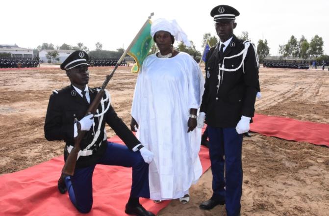 Cérémonie de sortie de la 9e promotion des élèves-gradés et de la 50e promotion des élèves–gendarmes
