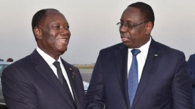 Alassane Ouattara soutient Macky Sall: qui se ressemble, s'assemble !
