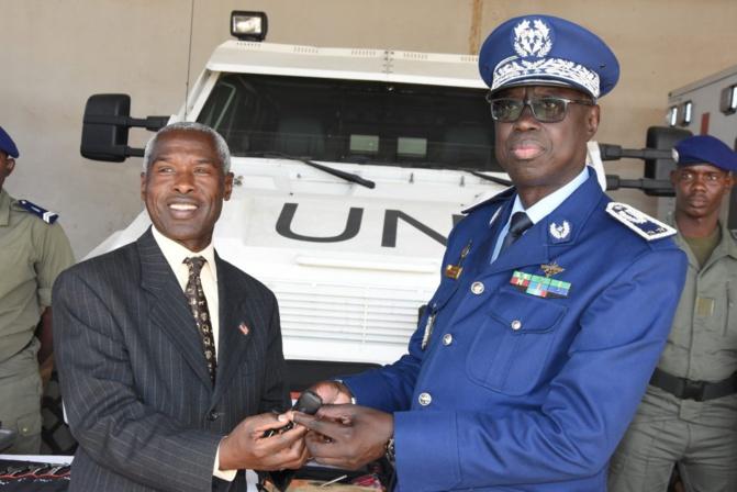 Réception de matériels et d'équipements: La gendarmerie s'arme