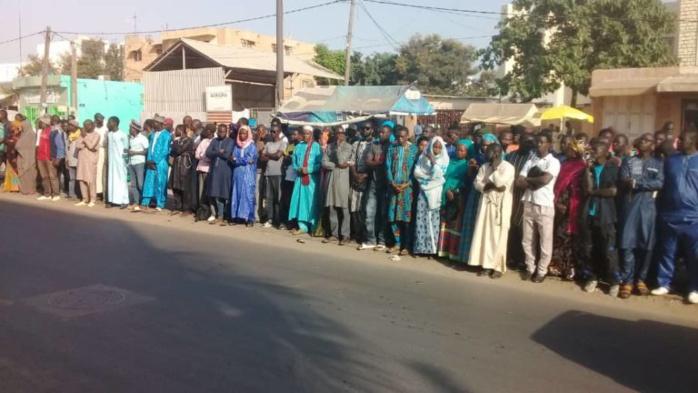 Dernier hommage à Sidy Lamine Niasse avant son inhumation : Les locaux de WALF déjà pris d'assaut (Photos)