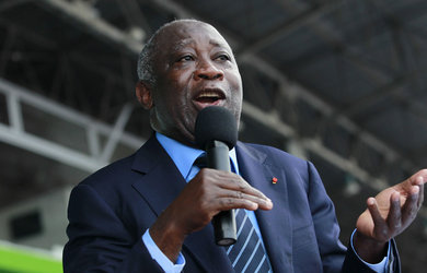 Laurent Gbagbo se rend