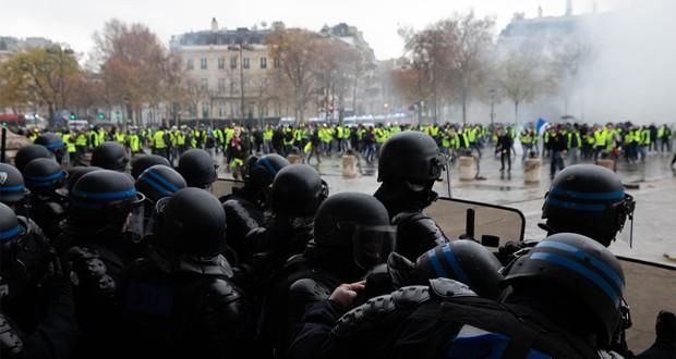 Manifestations des « gilets jaunes » en direct : 554 interpellations dont 335 gardes à vue à Paris