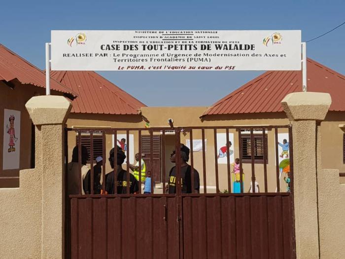 Le Puma offre à Walaldé sa première « Case des Tout-petits »