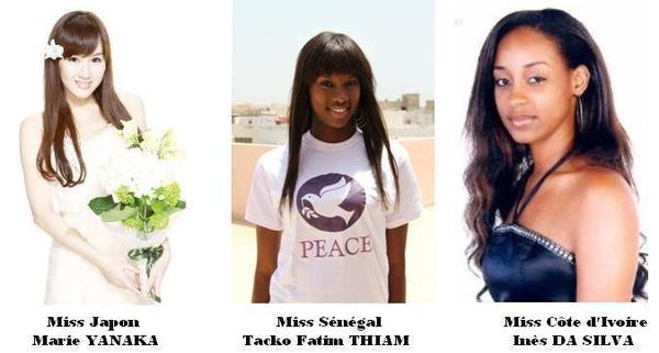 Seisme au Japon, Crise en Côte d'Ivoire: La Compassion de Miss Sénégal