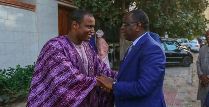 « Jaxal »: Macky remet 20 millions à la famille de Sidy Lamine Niasse