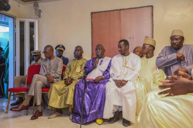 Chez Sidy Lamine Niasse hier: Ce qu'a demandé El Hadji Mansour Mbaye à Macky Sall