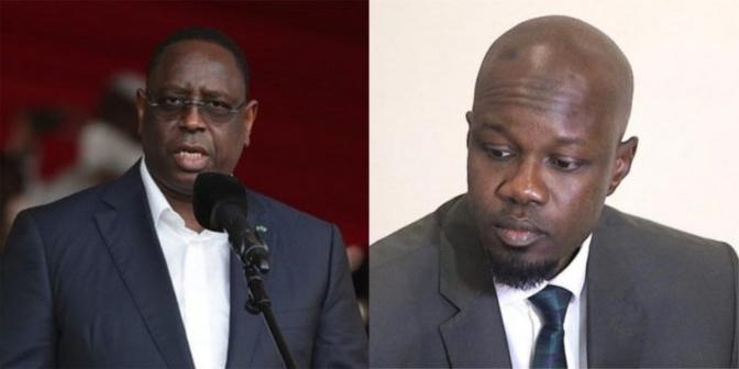 """Macky Sall raisonne Ousmane Sonko : """"Il faut avoir la modestie d'aller d'abord se documenter avant de parler en public"""""""