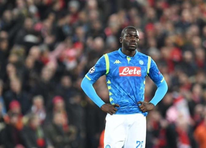Ligue des Champions: Koulibaly Koulibaly réagit après l'élimination de Naples: « C'est difficile… »