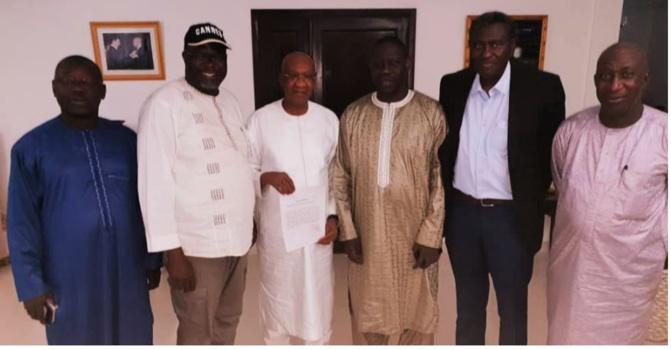 Dépôt des parrainages de la coalition Hadjibou 2019 et entame de la phase de campagne électorale