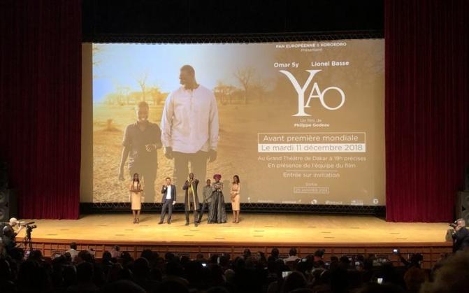 En avant-première au Sénégal, le film Yao avec Omar Sy au menu