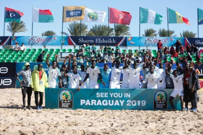 5e sacre continental pour le Sénégal en Coupe d'Afrique de Beach Soccer