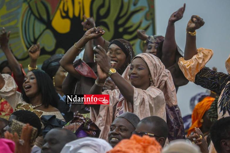 PHOTOS - Ameth Fall BRAYA chez Macky SALL: les complicités d'une audience