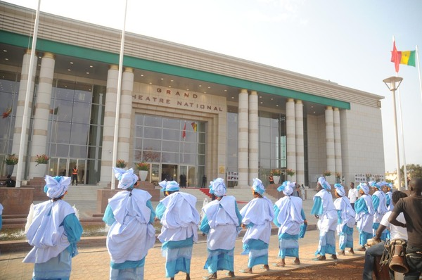 (Photos) Inauguration : un Grand théâtre national