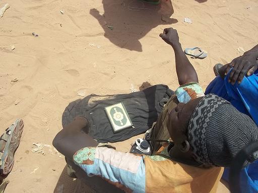 [Audio – Photos] Magal de Porokhane :Des Baye-Fall jouant avec le Saint-Coran pour soutirer de l'argent aux pèlerins