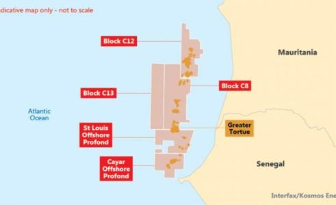 Gisement Grand Tortue : la commercialisation débute en 2022 avec 2, 5 millions de tonnes