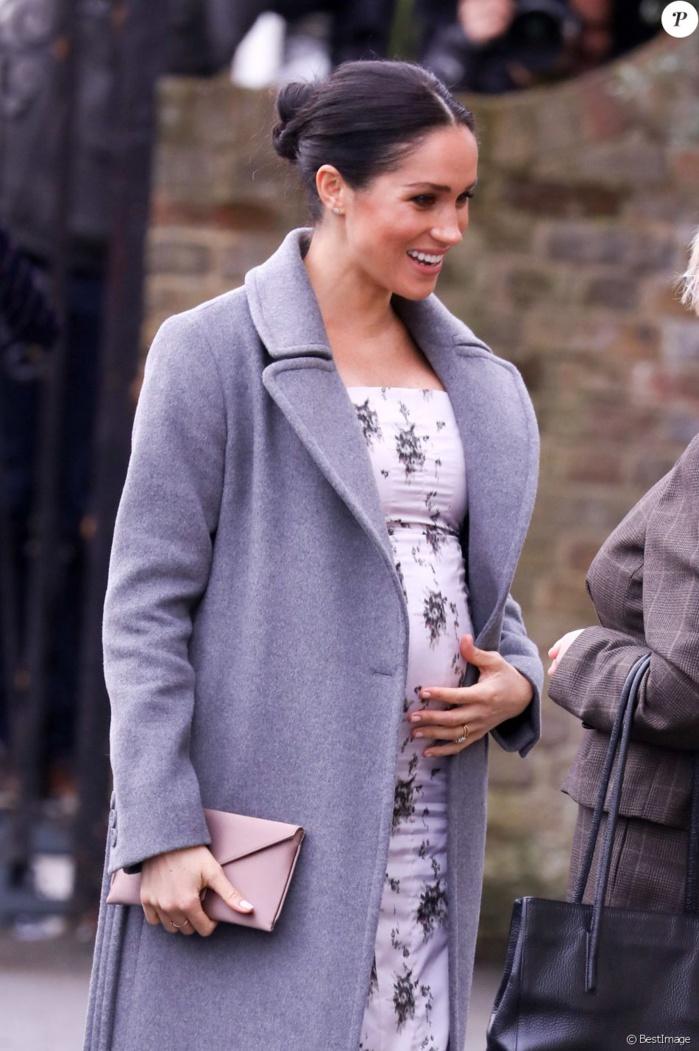 Meghan Markle enceinte, la future maman dévoile un ventre de plus en plus rond