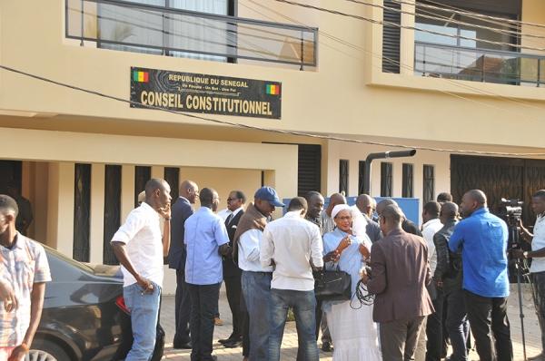 Conseil constitutionnel: Mouhamadou Diawara et Abdoulaye Sylla installés