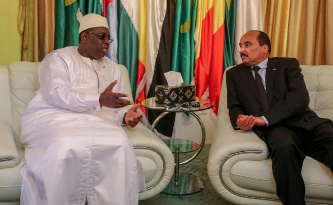 """Macky Sall en Mauritanie pour """"finaliser"""" la signature des accords du gisement Grand Tortue / Ahmetim"""