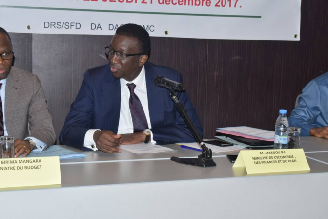 Caf Awards : Amadou Bâ réduit le budget d'un milliard proposé par Matar Bâ
